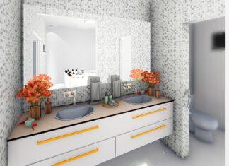 Glazura do łazienki